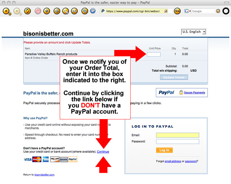 698e1d2b233 PayPal payments if you don t have a PayPal account.